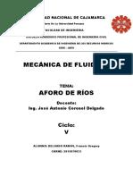 AforoDe Ríos