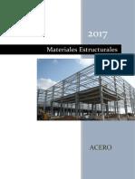 Materiales Estructurales - Acero