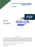 Ejemplo NOTA TECNICA - Conductores Sistema PAT