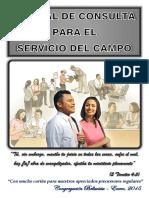Manual de Consulta Para El Servicio Del Campo