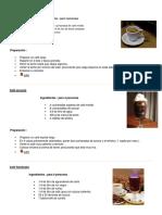 5 Recetas de Comida y Bebida T4