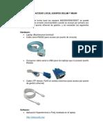 MANUAL_ACCESO Trubleshooting Básico EQUIPOS DSLAM Y MSAN.pdf