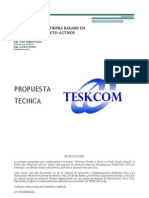 Ejemplo Propuesta Tecnica - Sistema PAT Especial