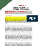 Economia y Agroindustria