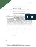 Informe Mensual - Noviembre 2014