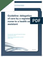 Nurse Delegation RN