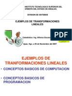 2d y 3d Ejemplos de Tranf Lineales