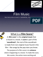 Film Music Lesson PowerPoint
