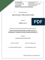 Implementacion tienda online  y sis. de inv.