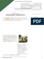 Definición de Ingeniería Ambiental - Qué Es, Significado y Concepto