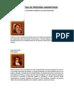 PRÓCERES ARGENTINOS (BIOGRAFIAS).pdf