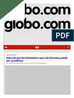 G1 - O Portal de Notícias Da Globo_lula y moro sobre departamento