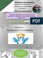Diapositivas del trabajo de investigación del curso tesis II