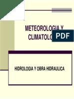 HIDROLOGIA-METEOROLOGIA