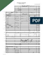 PIERRE BARTHOLOMEE 2e SYMPH-Envoi 13 Janvier - Partition en Ut