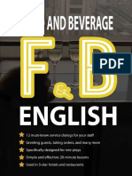 Food and Beverage English- Robert Villanueva