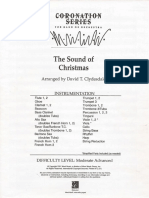 The Sound of Christmas - Score