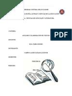 Análisis de el Libro Harry Potter y la piedra filosofal
