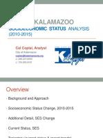 Kalamazoo socioeconomic analysis 2010-15