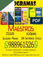 programas para colegios y multimedia