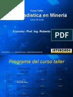 Geostadistica en Mineria