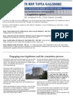 Galonski July ENL 2017 - Legislative Update