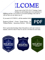 NOLATAC Training Center Visitor Info