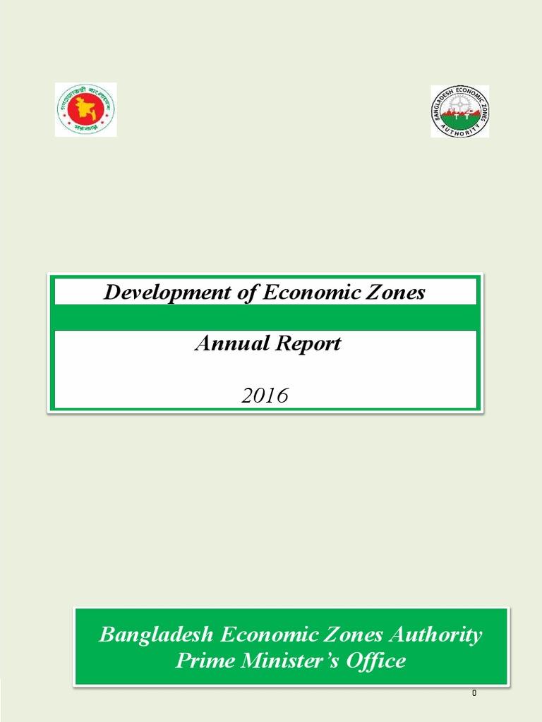 BEZA Annual Report | Public–Private Partnership | Bangladesh
