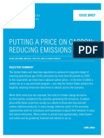 Putting a Price on Carbon Emissions