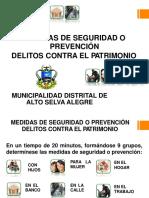 Medidas de Seguridad Como Prevencion Contra Delitos Contra El Patrimonio