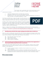 New York State Ending the AIDS Epidemic Blueprint Summary one-sheet