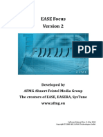 EASE Focus 2 User s Guide