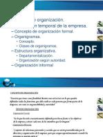 Organización de La Empresa - Organigramas