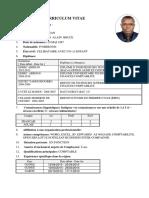 Curriculum Vitae Konan Kouadio Alain Bruce