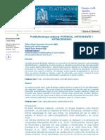 Puam (Muntingia Calabura)_ Potencial Antioxidante y Antimicrobiano