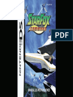 Manual NintendoDS StarFoxCommand ES