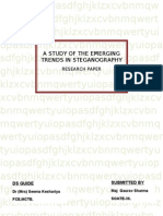 A Study of the Emerging Trends in Steganography