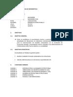 Contenido Dinamica Estructural 2 - UBI