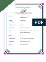 Variables Del Entorno y Como Afecta a La Organización en Una MYPE