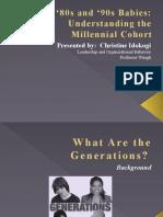 ' Generation Y'PowerPoint Presentation