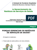 4 - Plano de Gerenciamento de Resíduos de Serviços de Saúde MAIS ATUAL (1)