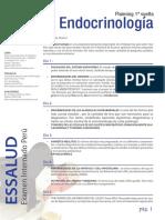 Planning de Endocrinología.