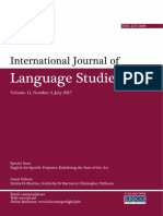 Volume 11 Number 3 -Special Issue on ESP