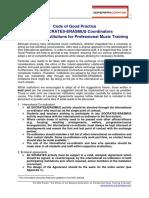 AEC Report - Code of Good Practice - En