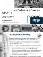 FY18 Preliminary Budget Update