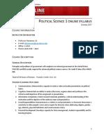 POLSC 1 - 8 Week Syllabus Hamman (Formatted)