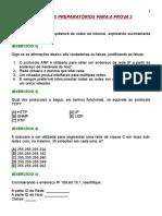 Respostas Exercicios Redes p2
