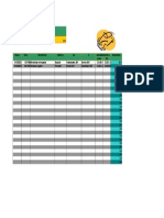 Formato Registro Del Kilometraje