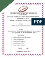 Resumen Anexo Proyecto de Inversion a Nivel Perfil