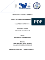 Documento Residencias
